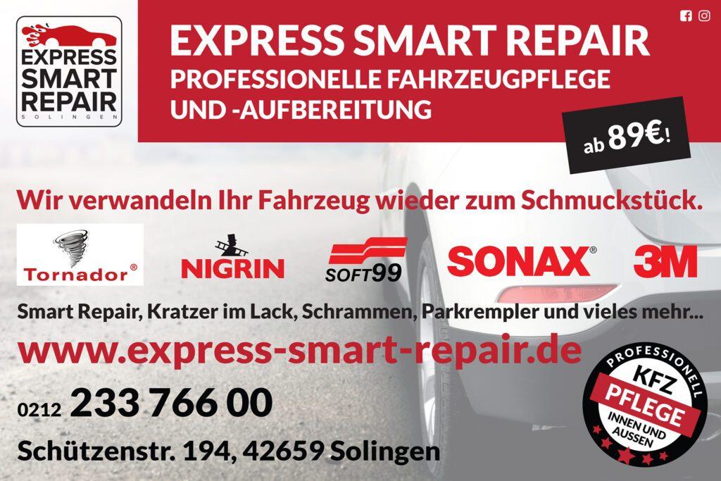 Express Smart Repair - Professionelle Fahrzeugpflege und Aufbereitung