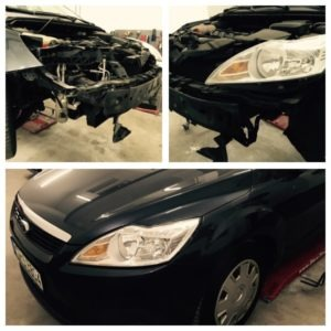 Ford Front Schaden Lackdoktor Smart Repair