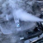 Dampfreinigung Motorraum
