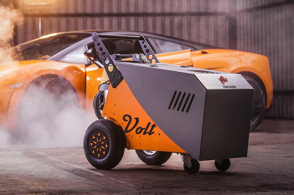 Fortador Dampfreiniger powered by Lamborghini